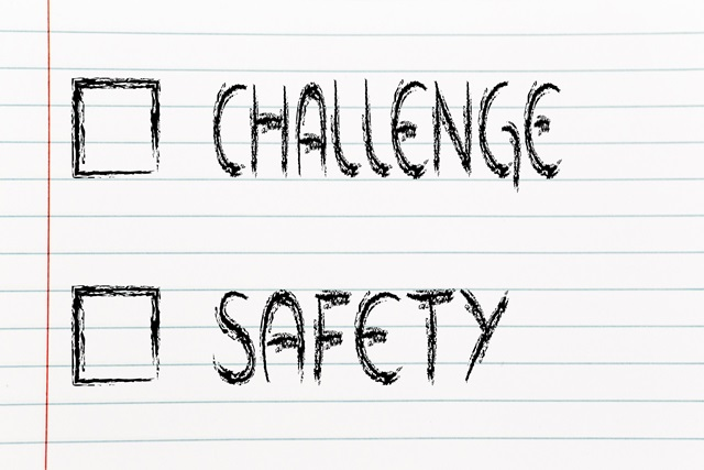 lifestyle choices: multiple choice test, challenge or safety